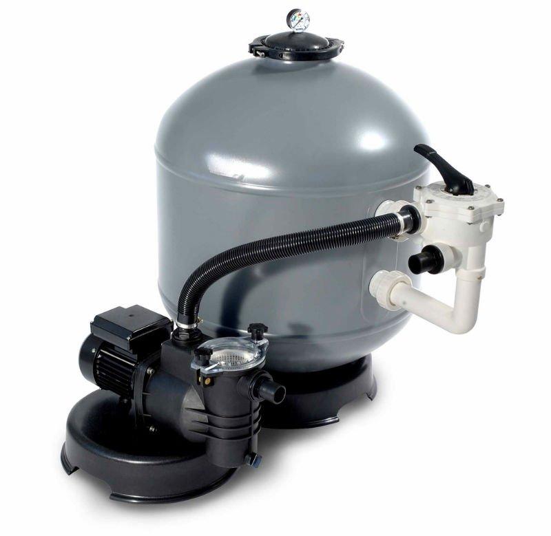 Pompa filtro a sabbia shott da 10 mc h per piscina motore da 1 20 hp ebay - Motore per piscina ...