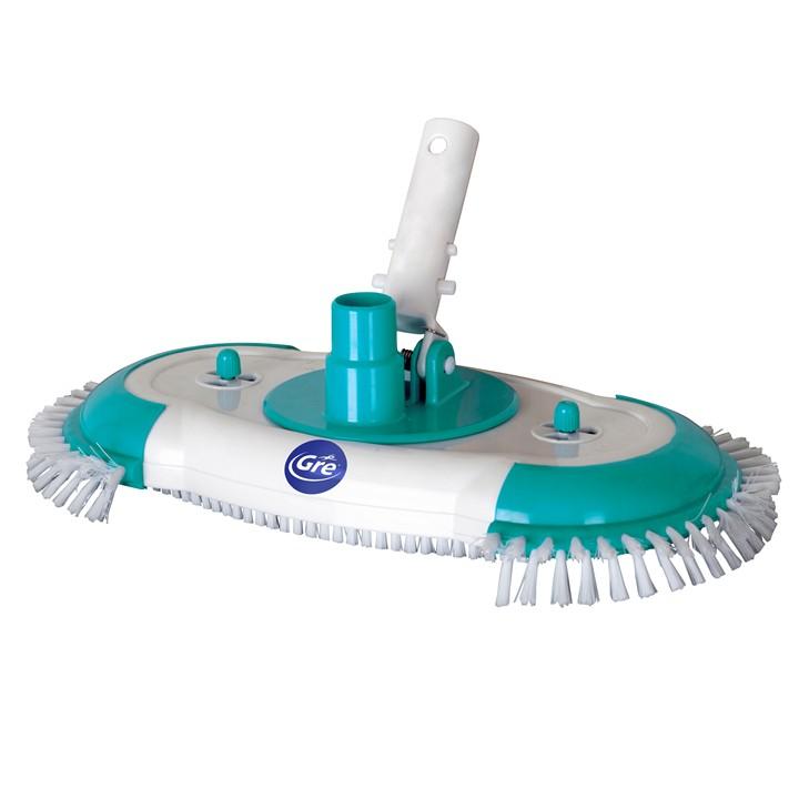 Aspirafango puliscifondo con spazzole piscina giardino - Aspirafango per piscina ...