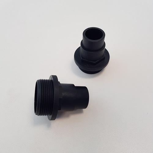 Raccordi filettati tubo piscina 32 - 38 mm