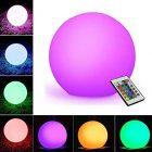 sfera luminosa led multicolor a batteria ricaricabile