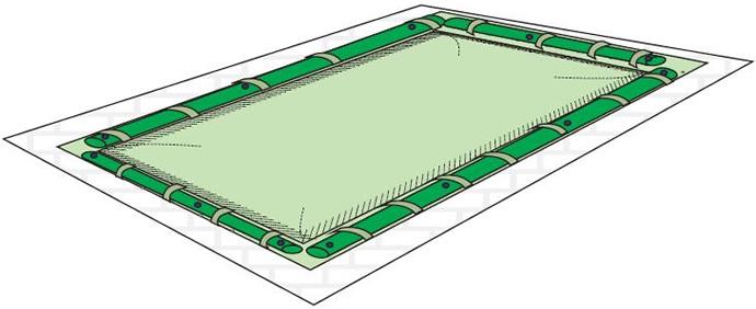 Tubolari in pvc per copertura invernale piscina for Copertura invernale piscina gre