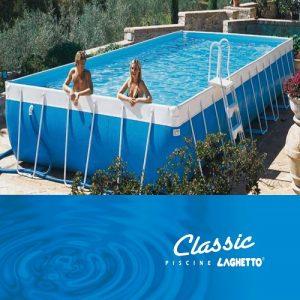 Piscina Laghetto Classic 47 Dim. Mt. 4,00×7,80×1,20 H Mt.