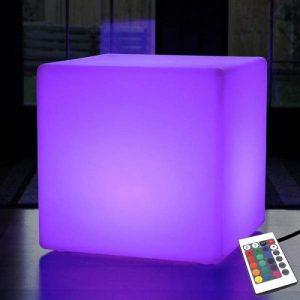 cubo luminoso rgb cavo elettrico