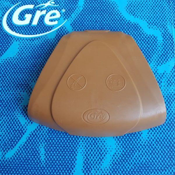 GRE Protezione gomma zona curva Marrone PINW15P