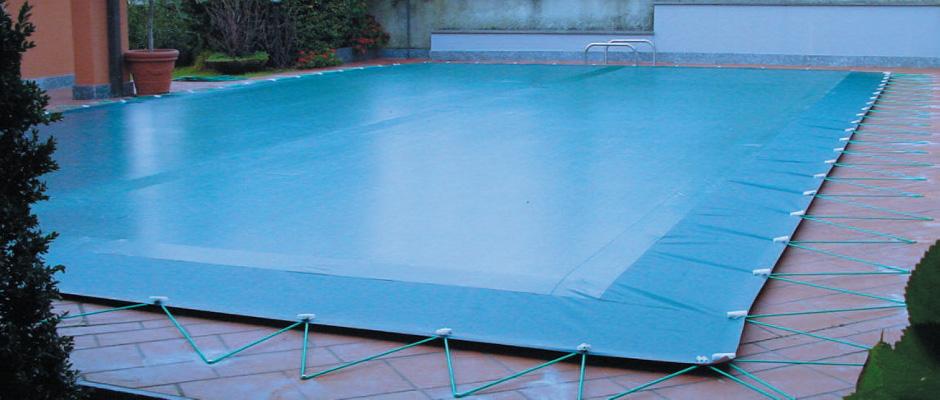 Copertura invernale super cover con elastici piscina for Copertura invernale piscina gre