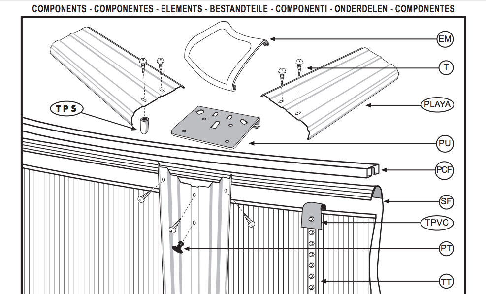 Istruzioni Per Il Montaggio Delle Piscine Piscina Giardino Shop