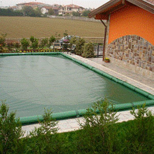copertura invernale con tubolari in pvc compresi