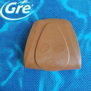 GRE Protezione gomma zona retta Marrone PINW15RP