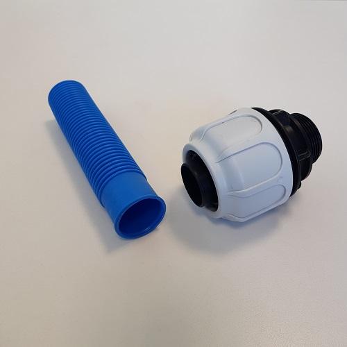 raccordo a compressione tubo diam 38 mm