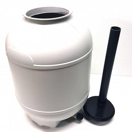 bidone filtro a sabbia gre 380 mm