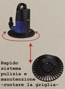 Pompa svuotatelone particolare