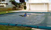 Pompa svuota telo copertura piscina