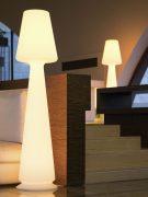 Lampada Vaso Luminoso Chloe Led Multicolor H 165 cm
