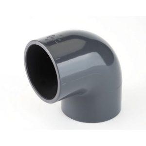GOMITO 90°IN PVC AD INCOLLAGGIO