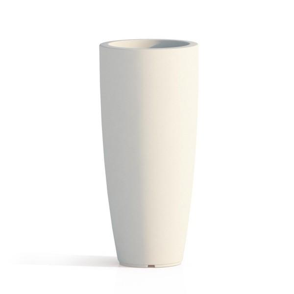 vaso tondo resina h 90