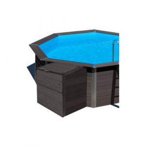 locale tecnico filtrazione per piscine in composito gre