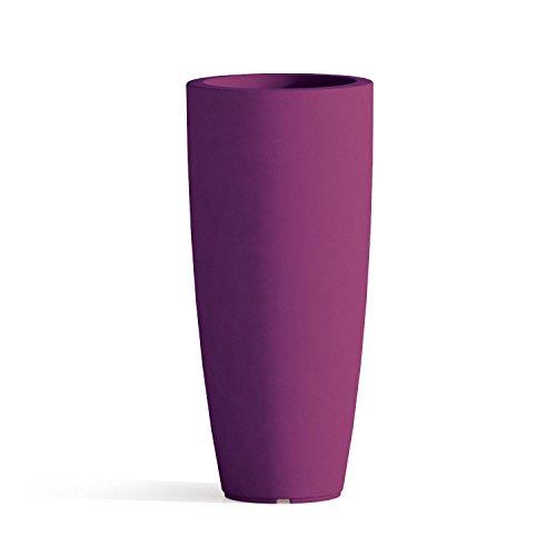 vaso tondo resina h 70 cm