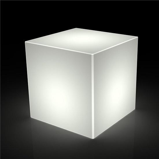 cubo luminoso cm 40 x 40 x 40 cm