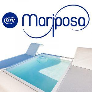 piscina gre-mariposa