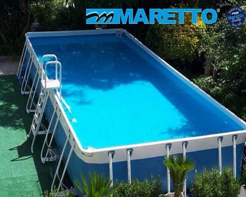piscina fuori terra comfort gold mt 3 x 4 mt