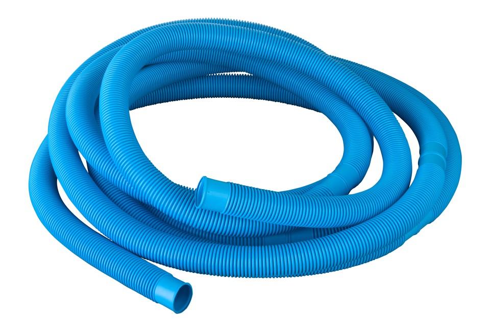 Tubo blu per collegamento piscina 32 38 mm piscina for Collegamento del tubo di rame al pvc