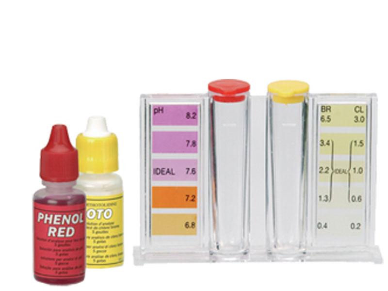 Kit Test Analisi Acqua Piscina con reagenti liquidi - Piscina & Giardino Shop