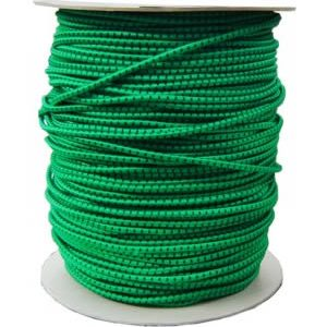 Corda elastica verde