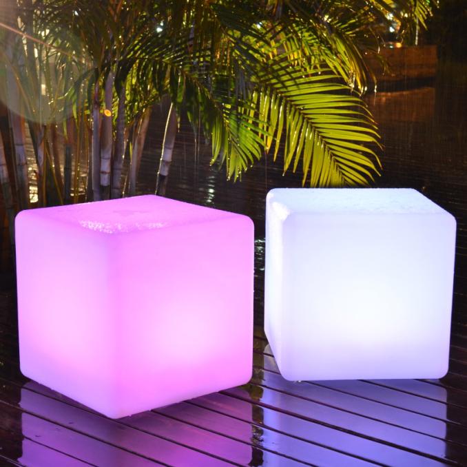 Cubo luminoso 40 x 40